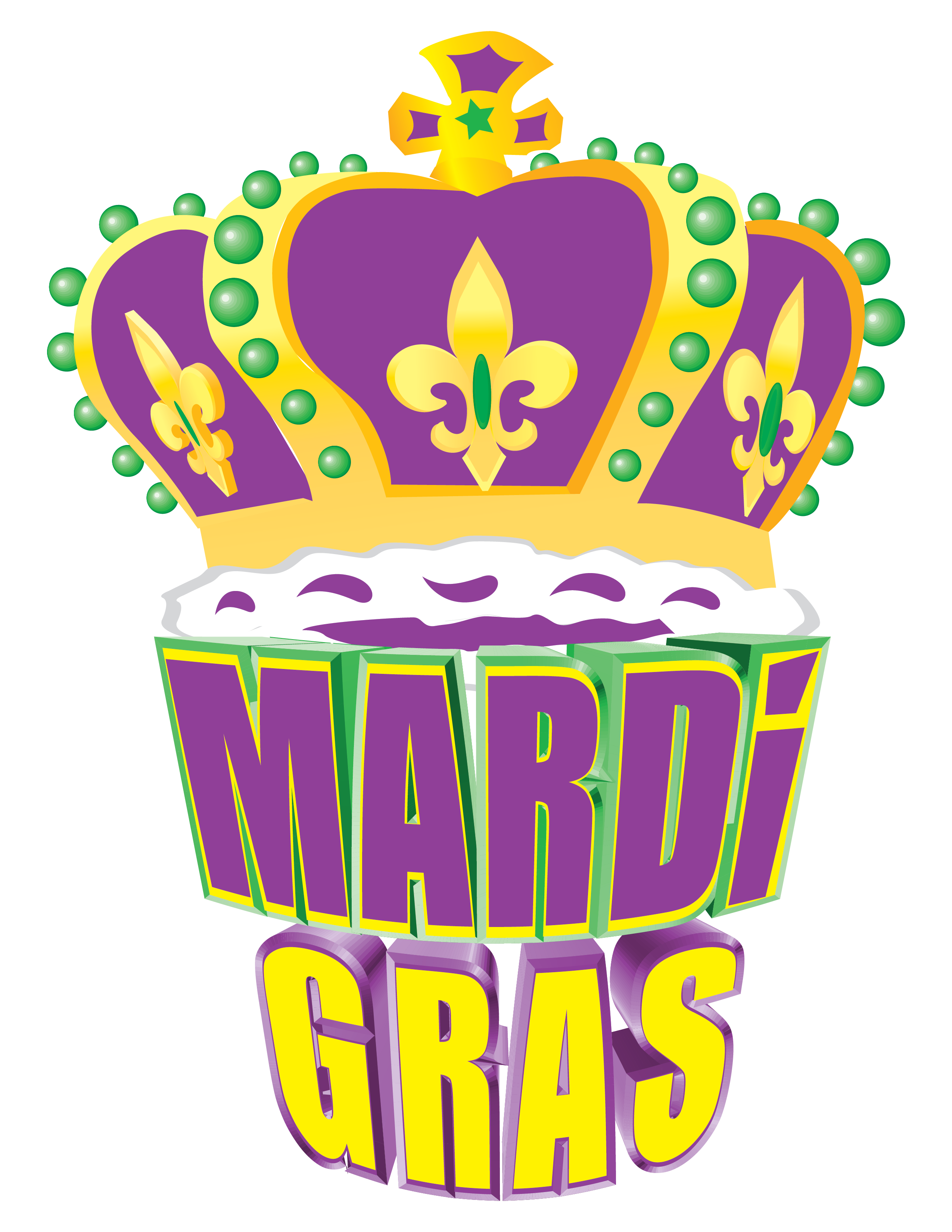 Mardi Gras Stationary 5