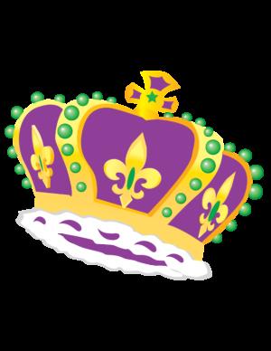 Mardi Gras Crown Clip Art