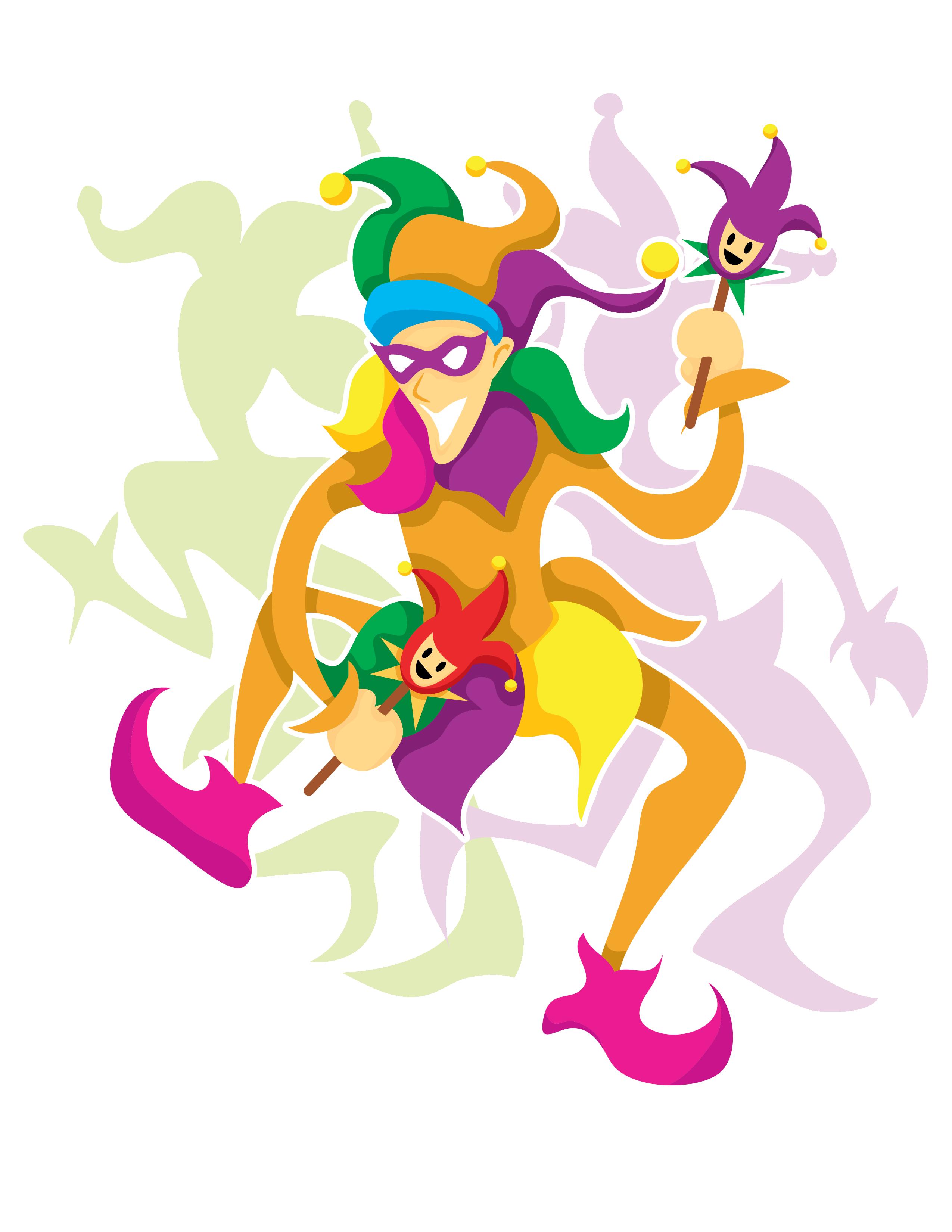 Mardi Gras Jester 5