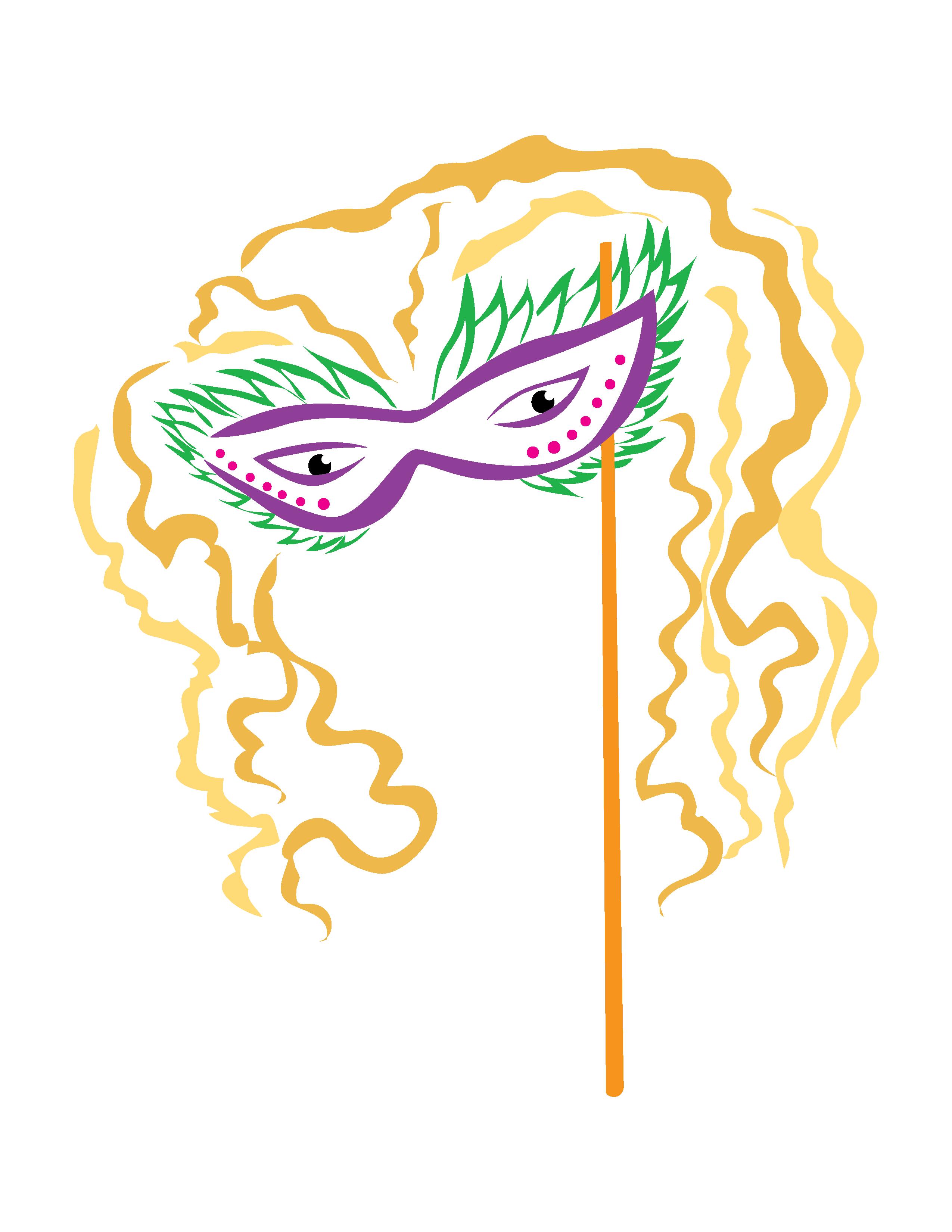Mardi Gras Mask 14