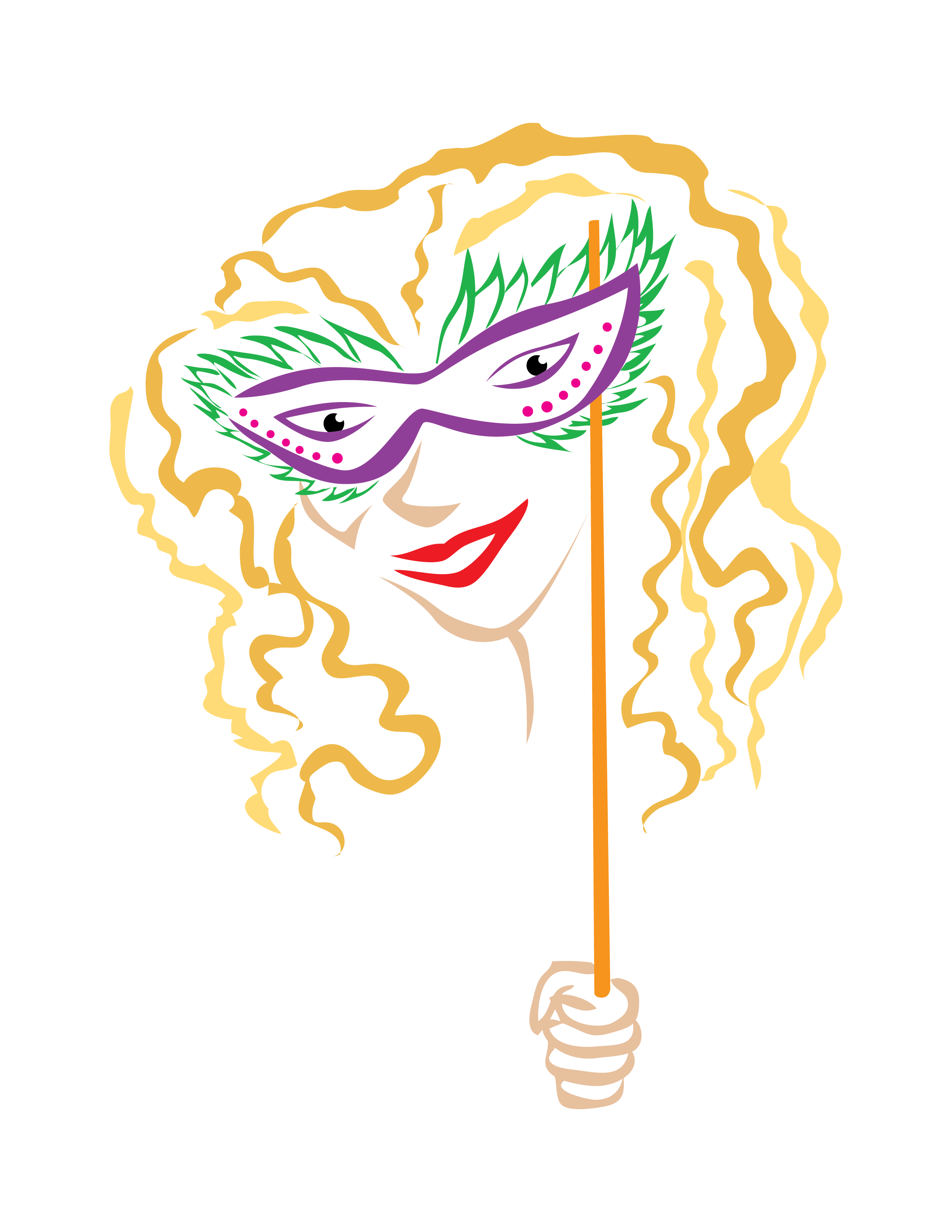 Mardi Gras Mask 15