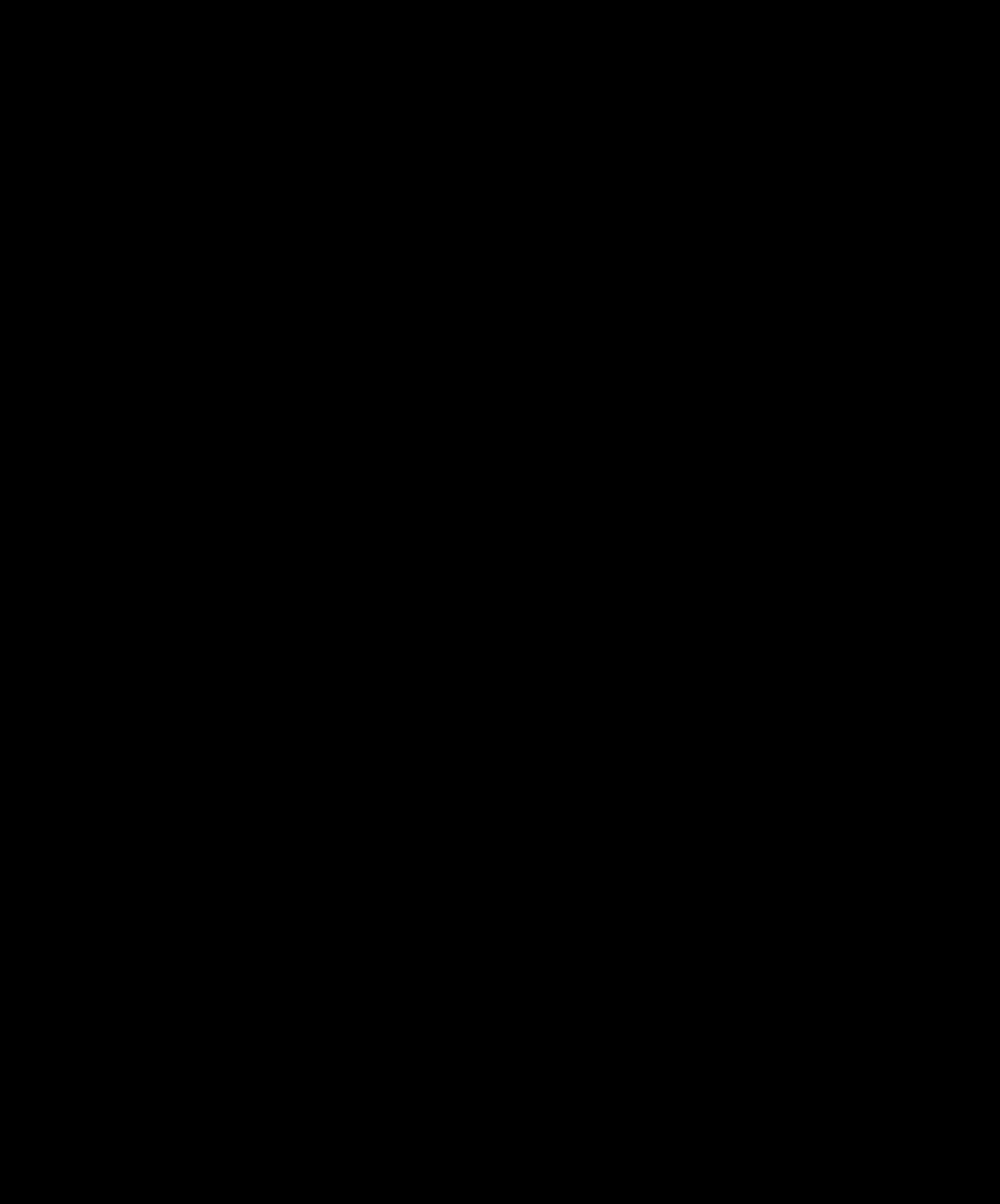 Black Fleur de Lis Vector Clip Art