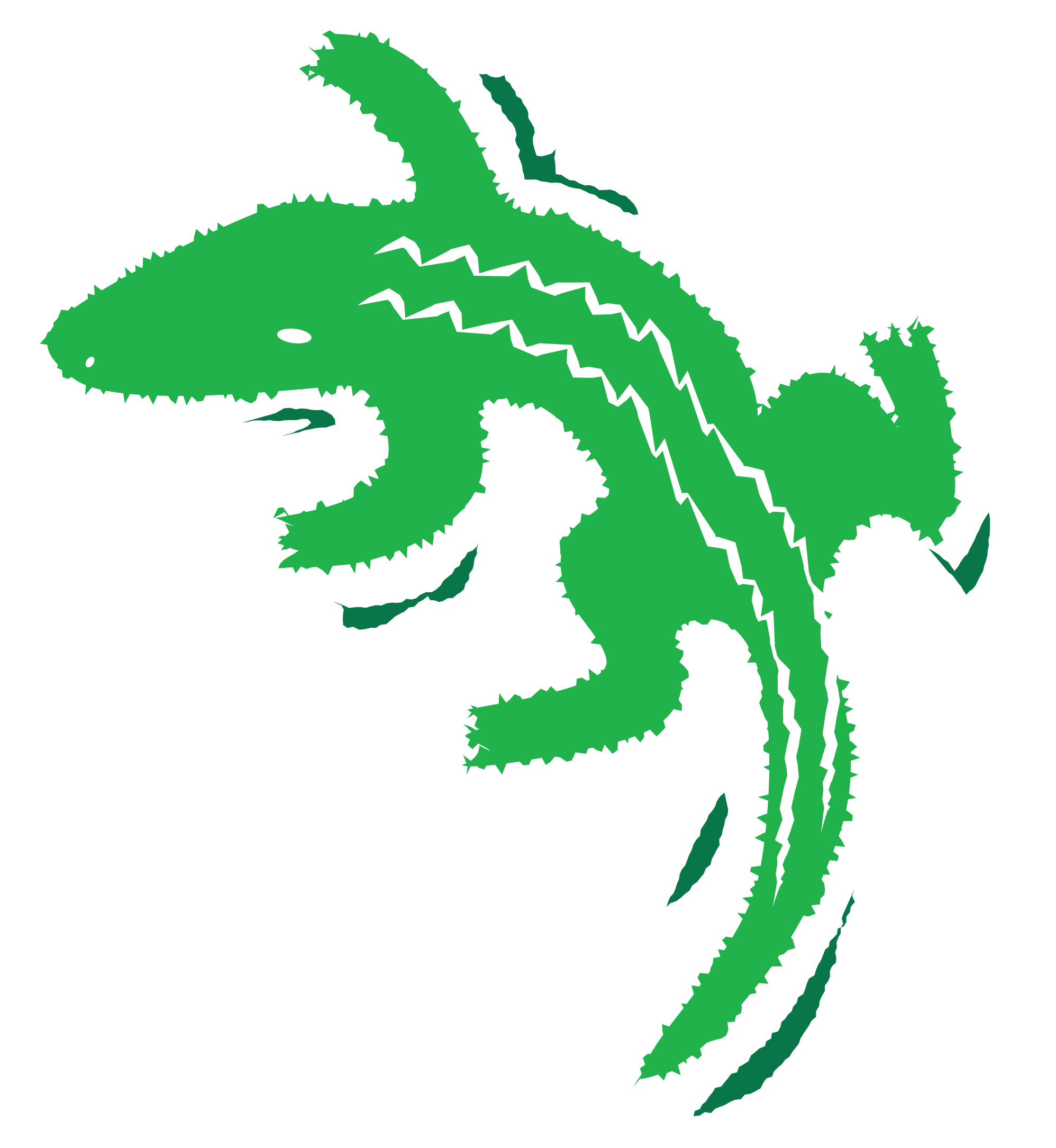 Alligator Vector Clip Art