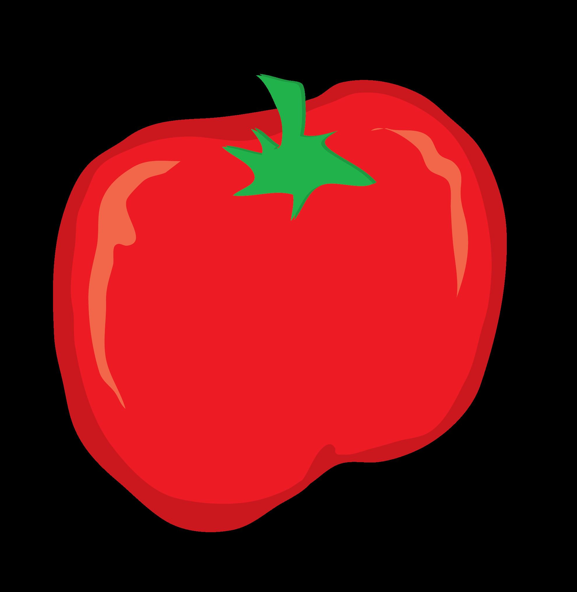 Tomato Vector Clip Art